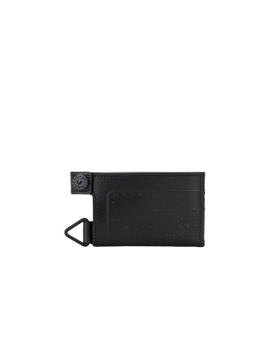STONE ISLAND SHADOW PROJECT 90220 QUAD SLEEVE WALLET  Wallet Man Black