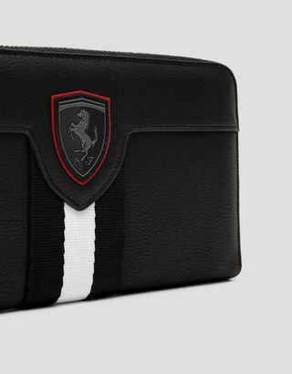 Scuderia Ferrari Online Store - Brieftasche im Livree-Design - Zip-around Wallet