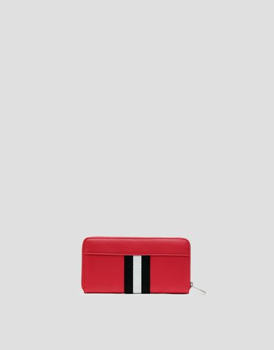 Wallet with Ferrari colours