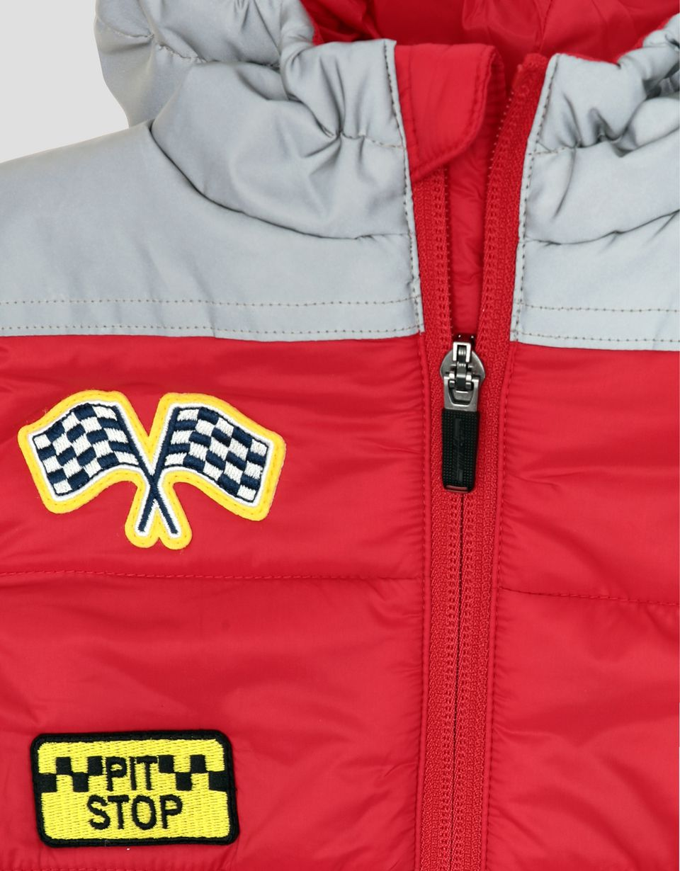 Scuderia Ferrari Online Store - Infants' padded suit with reflective hood -