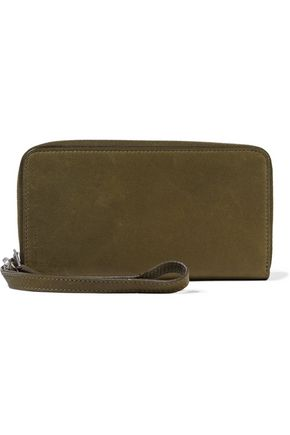 RICK OWENS Leather continental wallet