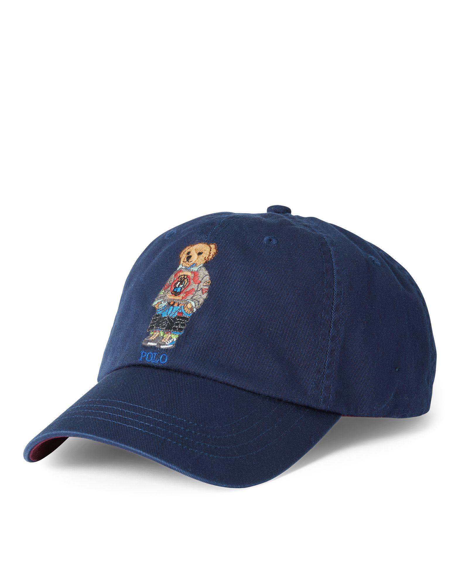 《送料無料》POLO RALPH LAUREN メンズ 帽子 ダークブルー one size コットン 100% COTTON CHINO BASEBALL CAP