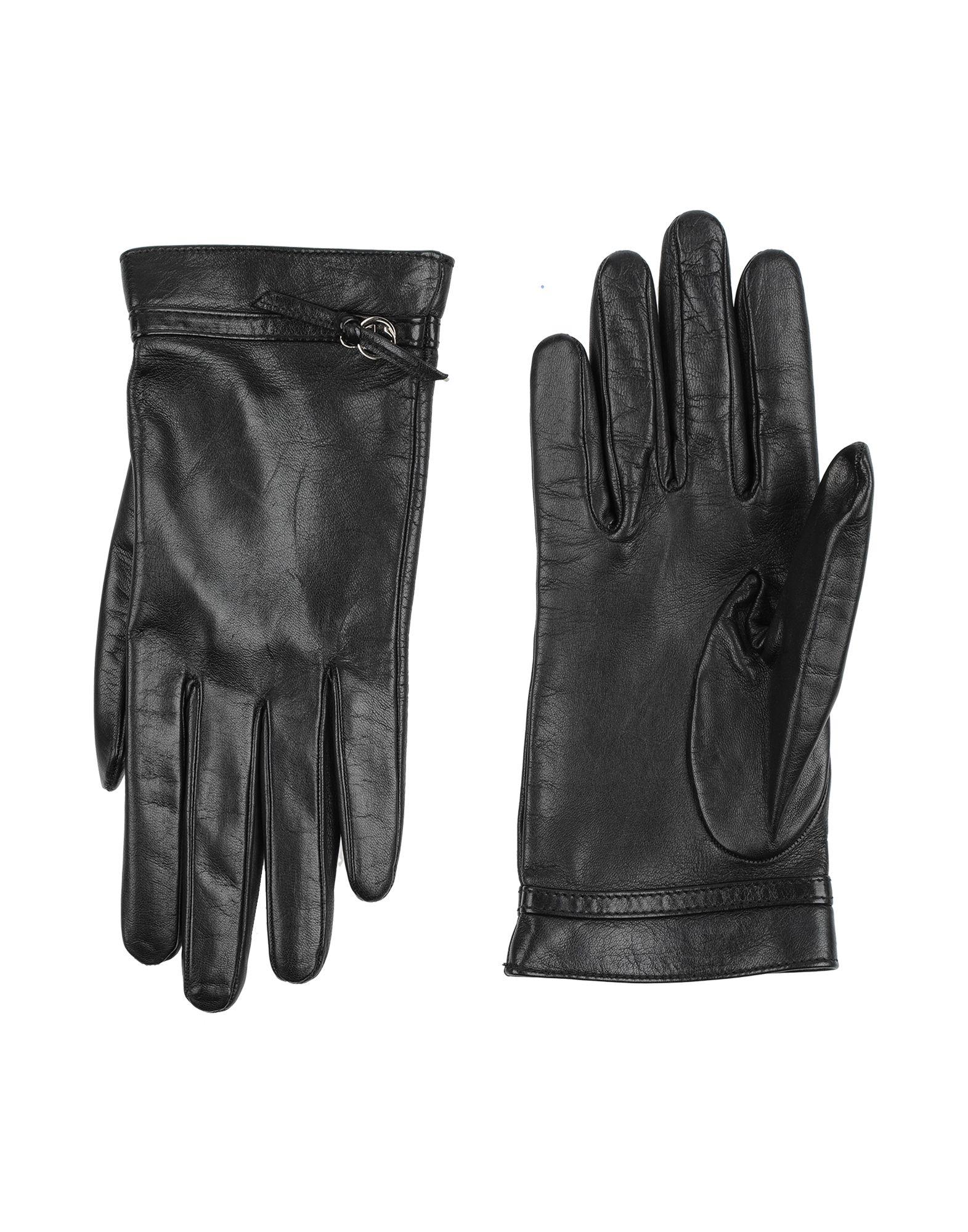 GUCCI Перчатки gucci серые вязаные перчатки