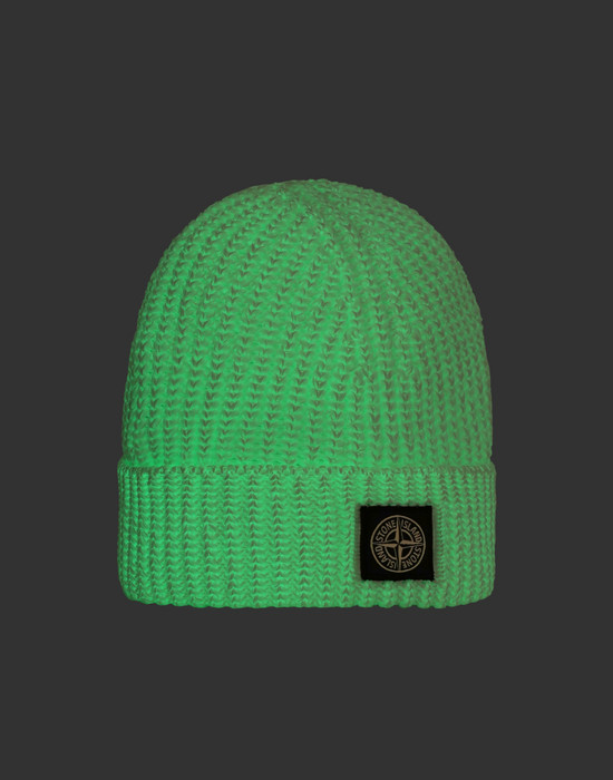 Hat N11A8 GLOW IN THE DARK STONE ISLAND JUNIOR - 0