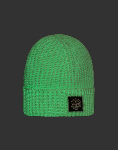 STONE ISLAND JUNIOR Hat Man N11A8 GLOW IN THE DARK f
