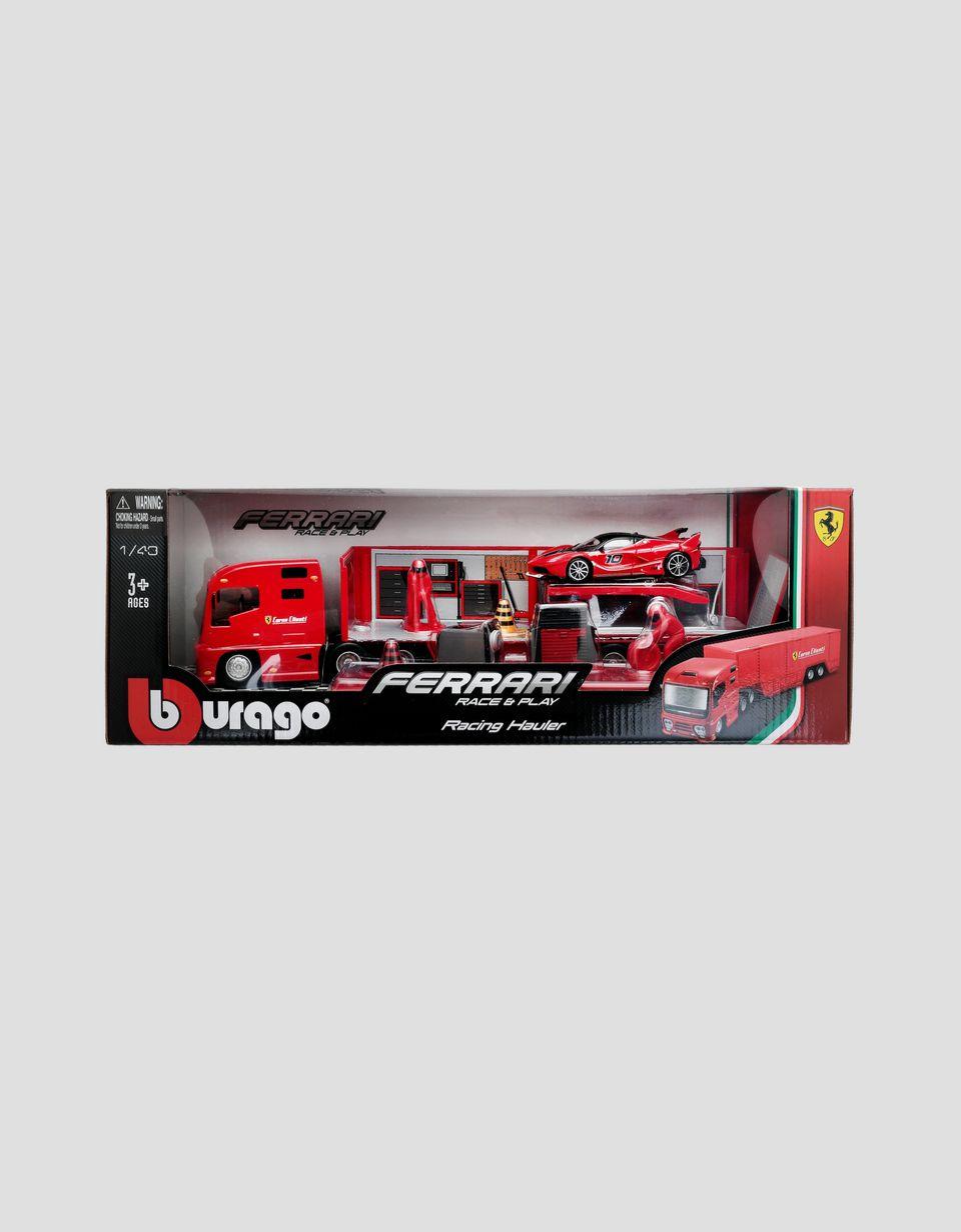 Scuderia Ferrari Online Store - Ferrari porte-voitures Race&Play à l'échelle 1/43 - Circuits