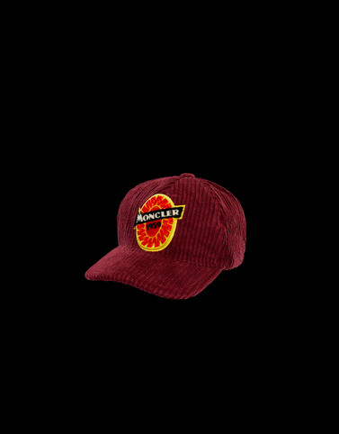 BASEBALL HAT Bordeaux Hats Man