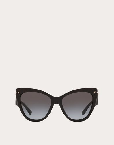 CAT-EYE FRAME ACETATE SUNGLASSES
