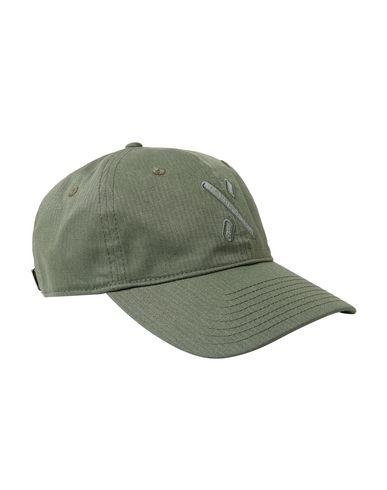 Фото - Головной убор цвет зеленый-милитари