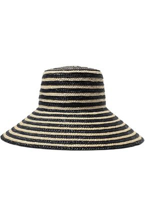 EUGENIA KIM Annabelle striped straw hat