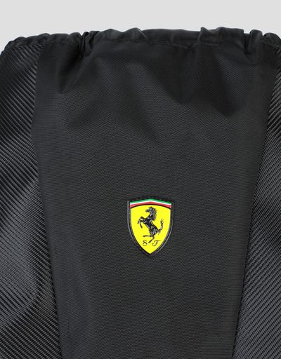 Scuderia Ferrari Online Store - Scuderia Ferrari backpack with drawstring - Regular Rucksacks