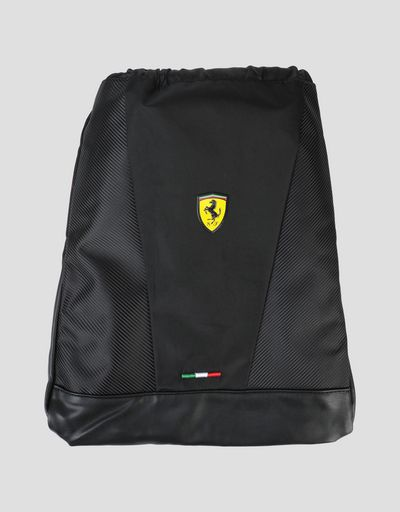 Scuderia Ferrari backpack with drawstring