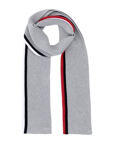 Купить Мужской шарф  серого цвета