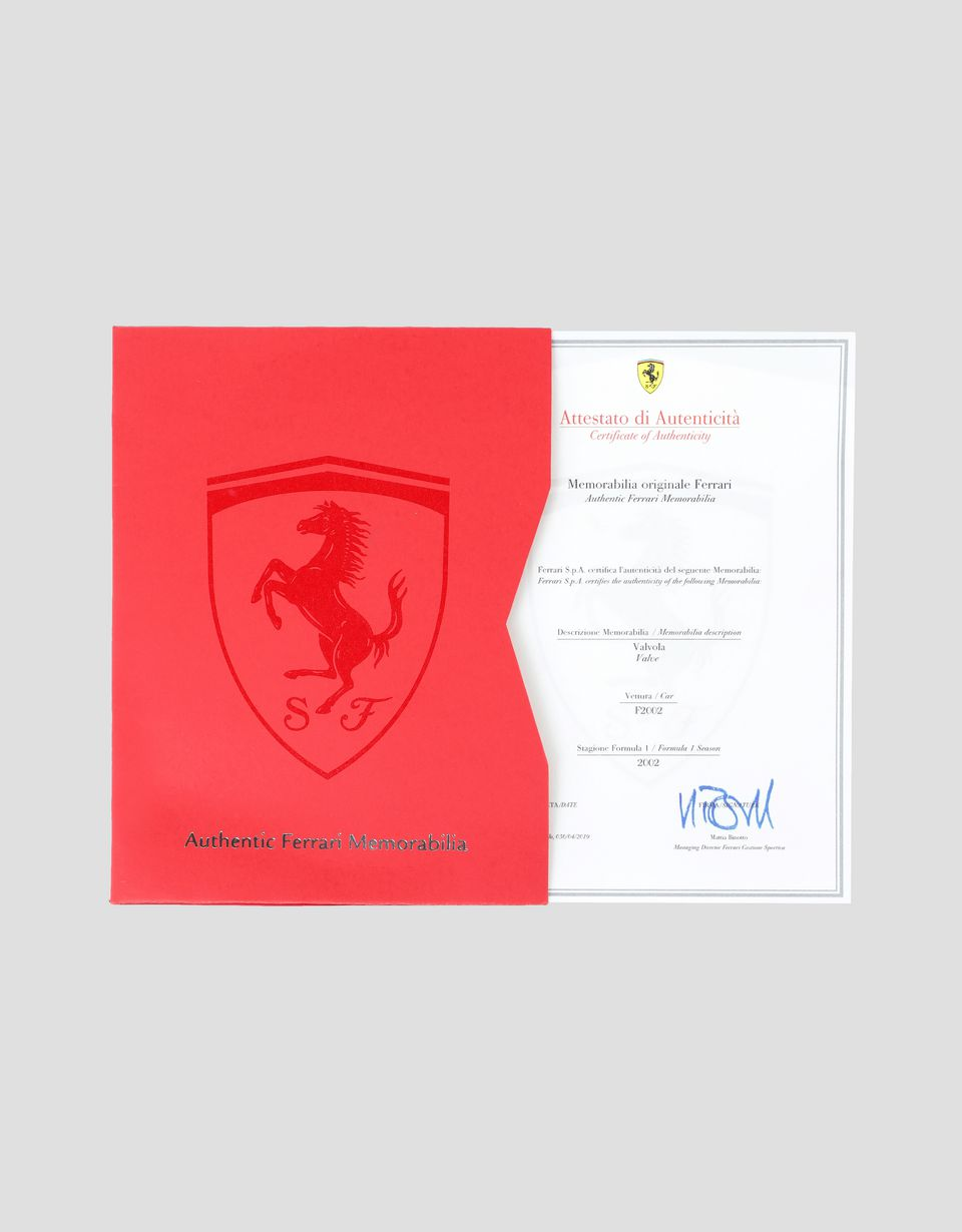 Scuderia Ferrari Online Store - F1-2002 valve - Memorabilia F1