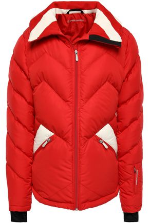 PERFECT MOMENT Quilted shell down coat