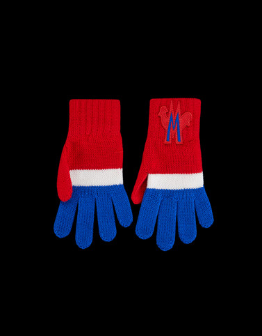 GLOVES Red Kids 4-6 Years - Boy