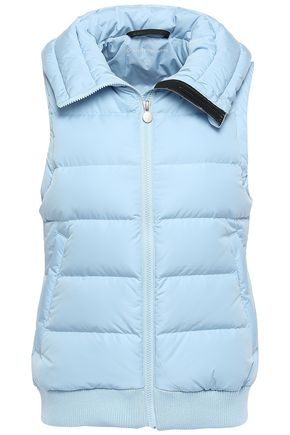 PERFECT MOMENT Quilted shell down vest