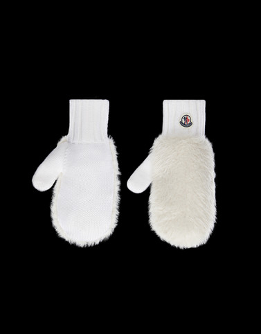 GLOVES White Category Gloves Woman