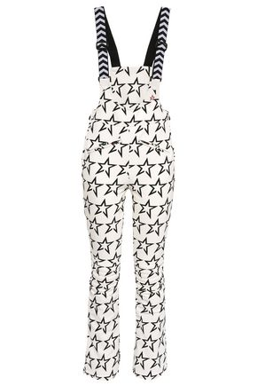 PERFECT MOMENT Quilted printed shell ski suit