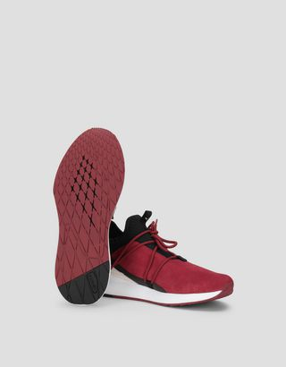 Scuderia Ferrari Online Store - Puma Scuderia Ferrari Evo Cat II Suede Shoes - Active Sport Shoes