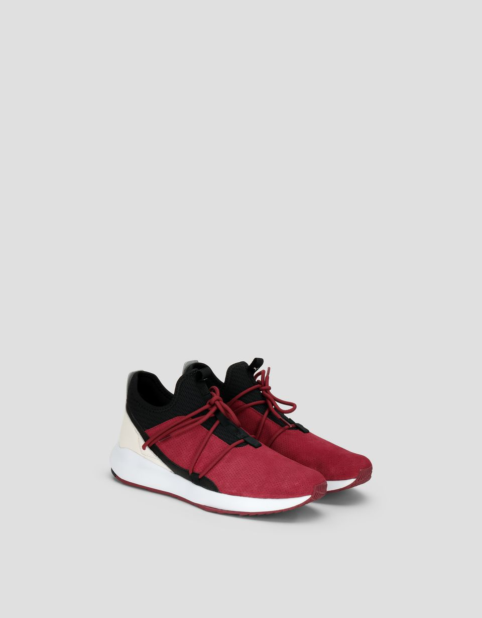 Scuderia Ferrari Online Store - Puma SF Evo Cat II Suede shoes - Active Sport Shoes