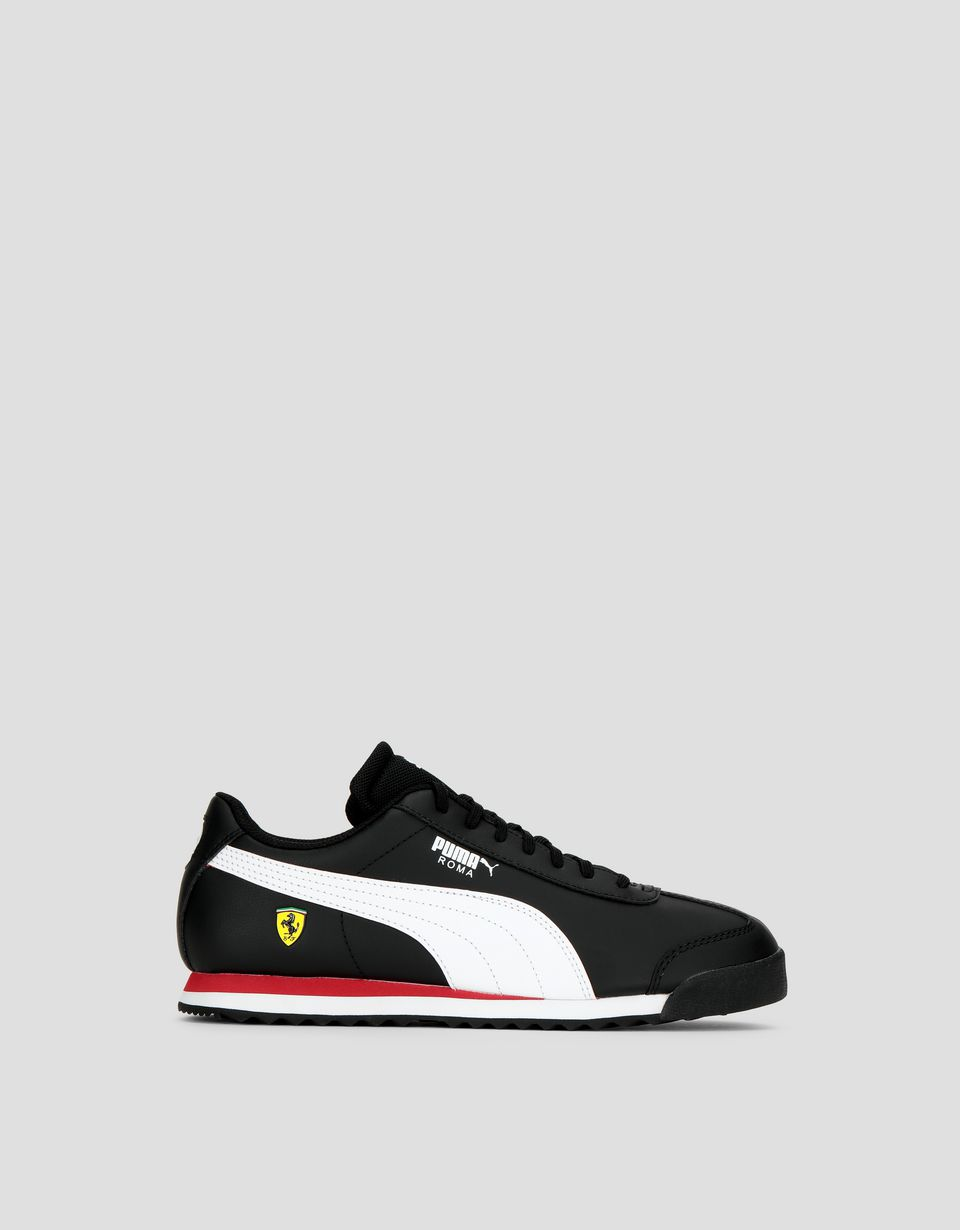 Scuderia Ferrari Online Store - Puma SF Roma Children's Shoes - Active Sport Shoes