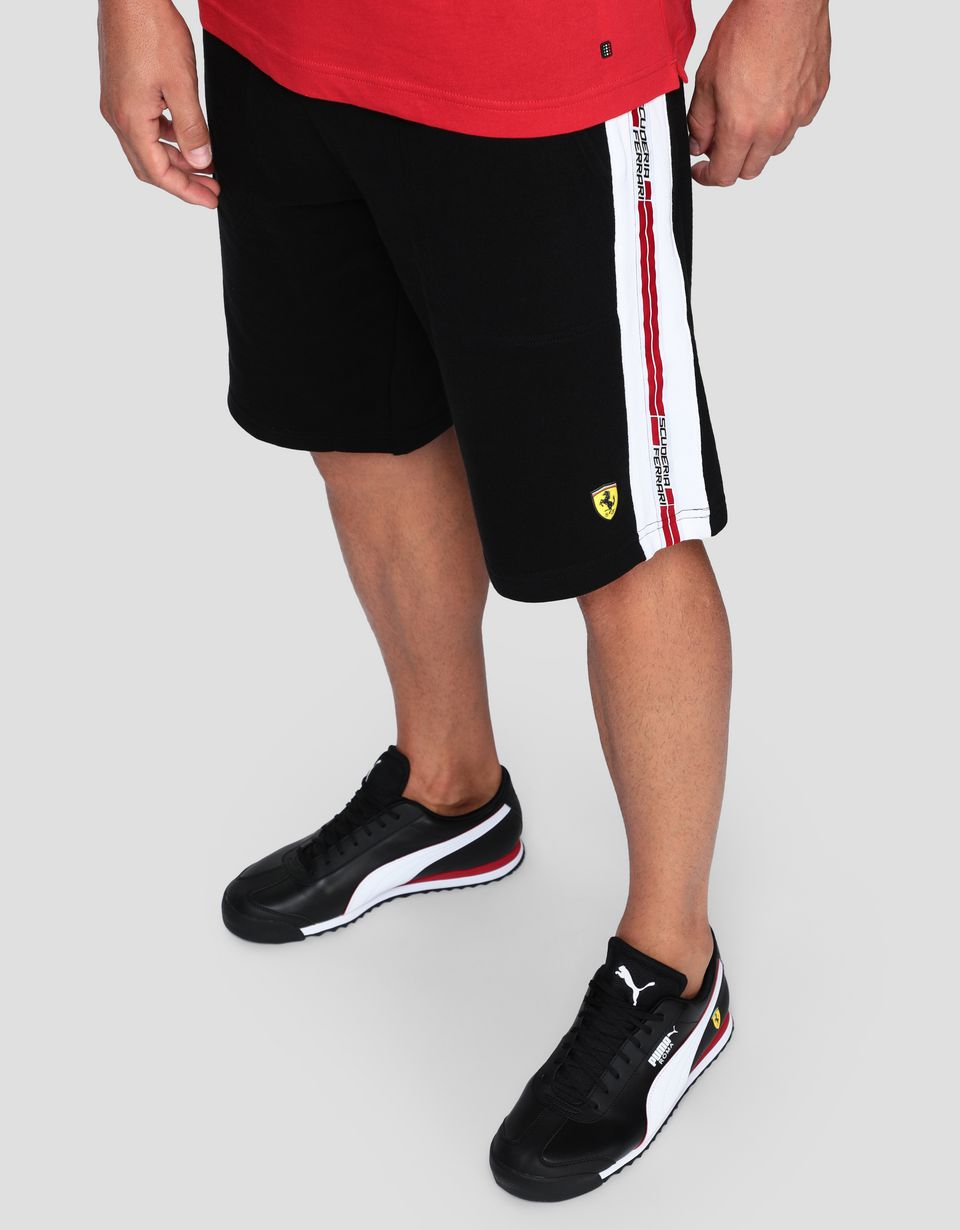 Scuderia Ferrari Online Store - Men's French Terry shorts - Shorts
