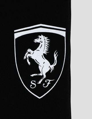 Scuderia Ferrari Online Store - Girls' joggers with large Ferrari Shield - Joggers