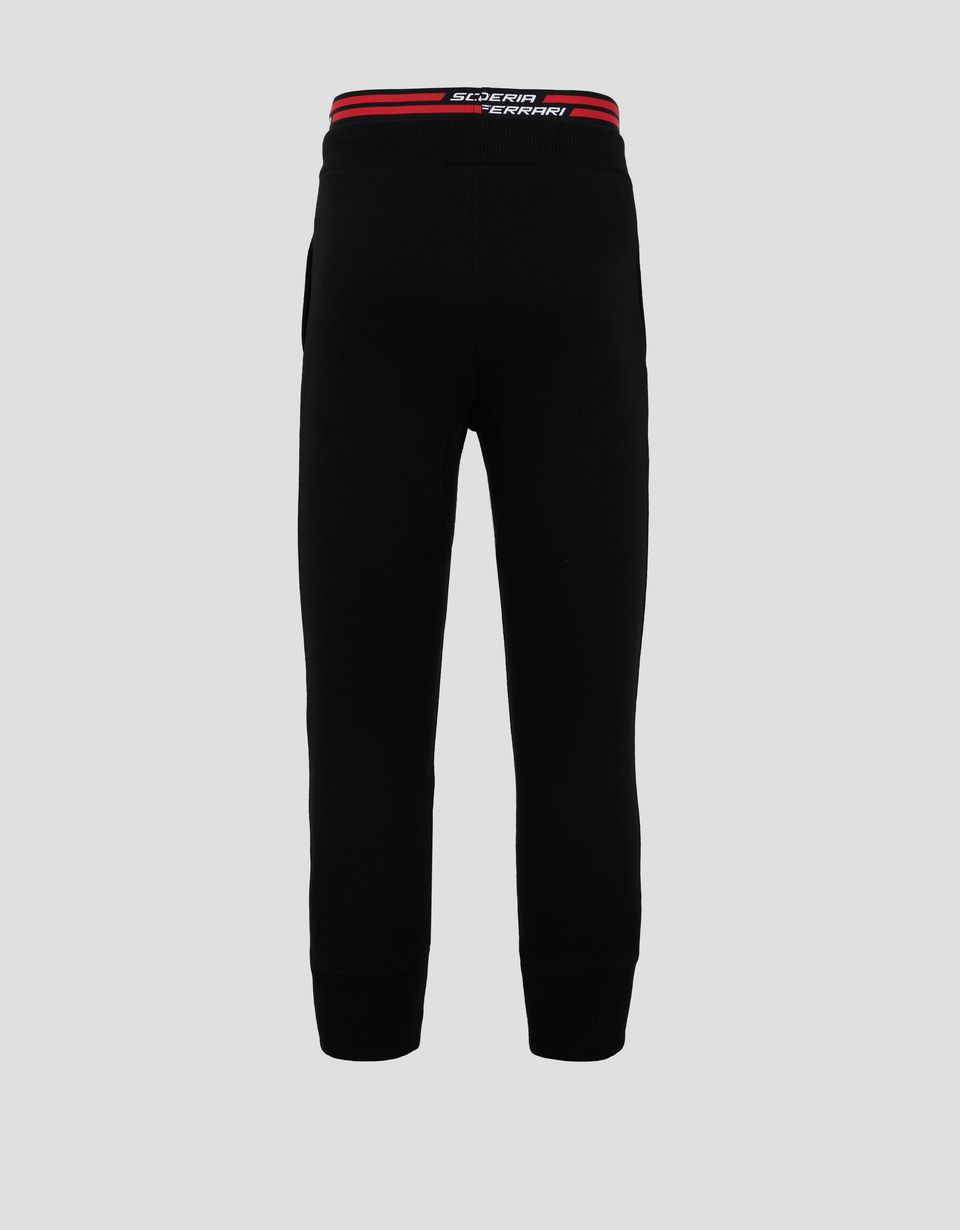 Scuderia Ferrari Online Store - Girls' joggers with large Ferrari Shield - Joggers
