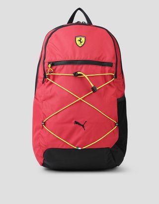 Scuderia Ferrari Online Store - Scuderia Ferrari Puma Fanwear backpack - Regular Rucksacks