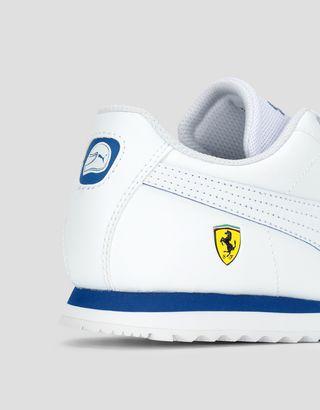 Scuderia Ferrari Online Store - Детские кроссовки Puma Scuderia Ferrari Roma - Active Sport Shoes