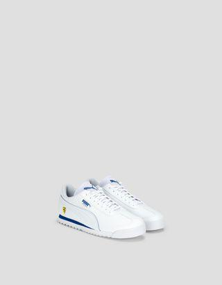 Scuderia Ferrari Online Store - Puma Scuderia Ferrari Roma kids sneakers - Active Sport Shoes