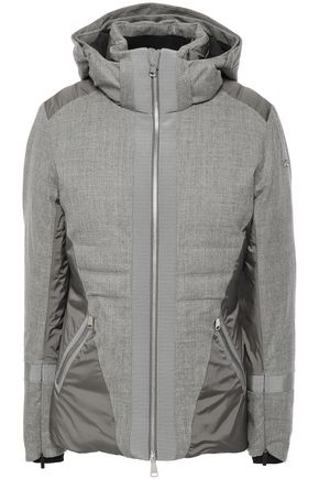 KJUS Sella wool-blend and shell hooded down jacket