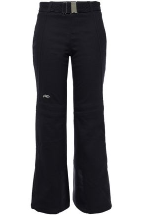 KJUS Naira belted wool-blend straight-leg ski pants