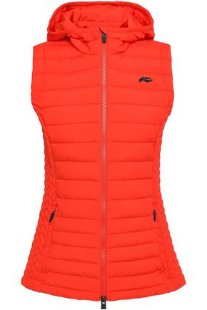 KJUS Macuna quilted shell hooded down vest