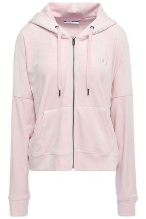 DKNY Velour hoodie