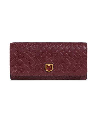 Купить Бумажник красно-коричневого цвета