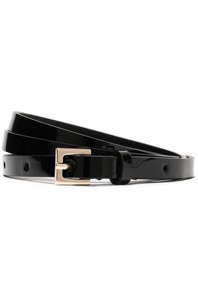 JIL SANDER Patent-leather belt