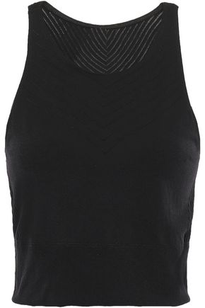 ADIDAS Cropped stretch top
