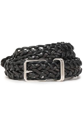 IRO Braided leather belt