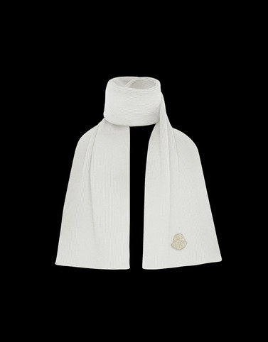 SCARF White Category Scarves Woman