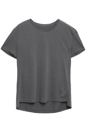 ADIDAS Textured-jersey T-shirt