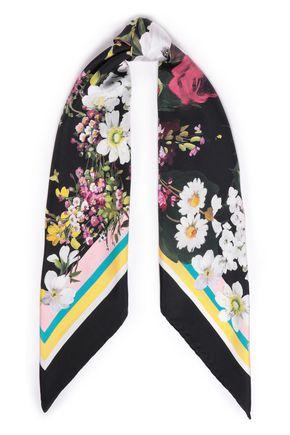 DOLCE & GABBANA Printed silk-satin twill scarf