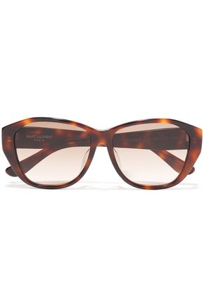SAINT LAURENT D-frame acetate sunglasses