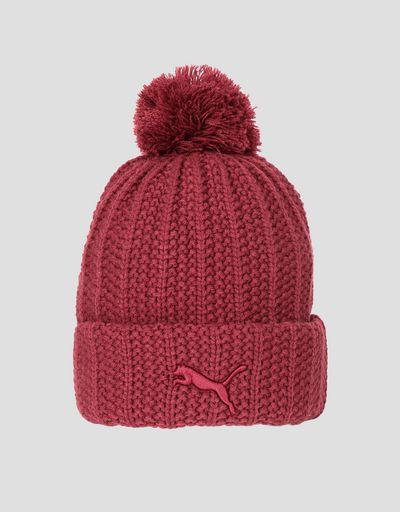 Puma Scuderia Ferrari knit cap with pompom