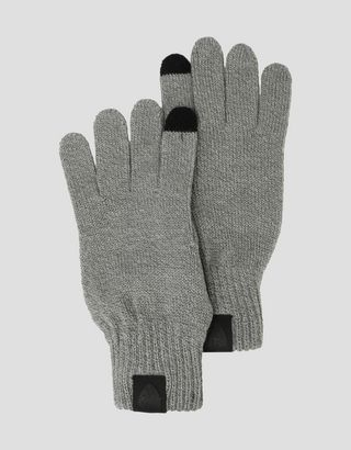 Scuderia Ferrari Online Store - Puma Scuderia Ferrari knit gloves with non-slip inserts - Regular Gloves