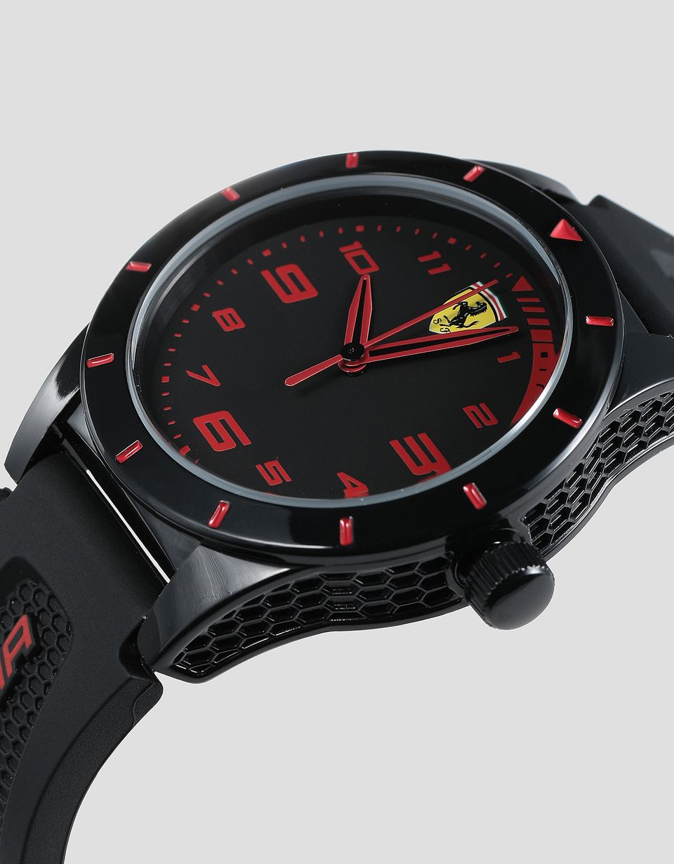 Scuderia Ferrari Online Store - RedRev children's watch with LaFerrari scale model - Quartz Watches