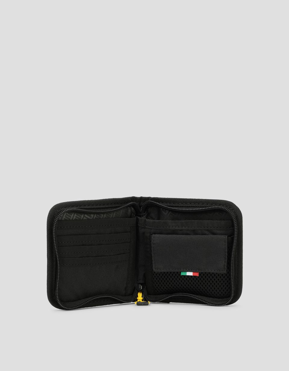 Scuderia Ferrari Online Store - Puma wallet with Ferrari Shield - Horizontal Wallets