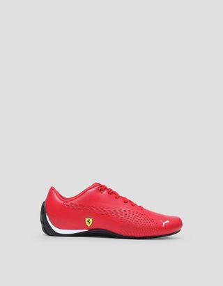 Scuderia Ferrari Online Store - Chaussures pour enfant Puma Scuderia Ferrari Drift Cat 5 Ultra II - Chaussures de sport