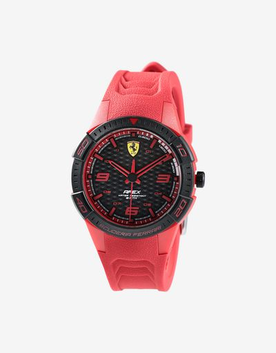 Красные наручные часы Apex с маленьким циферблатом